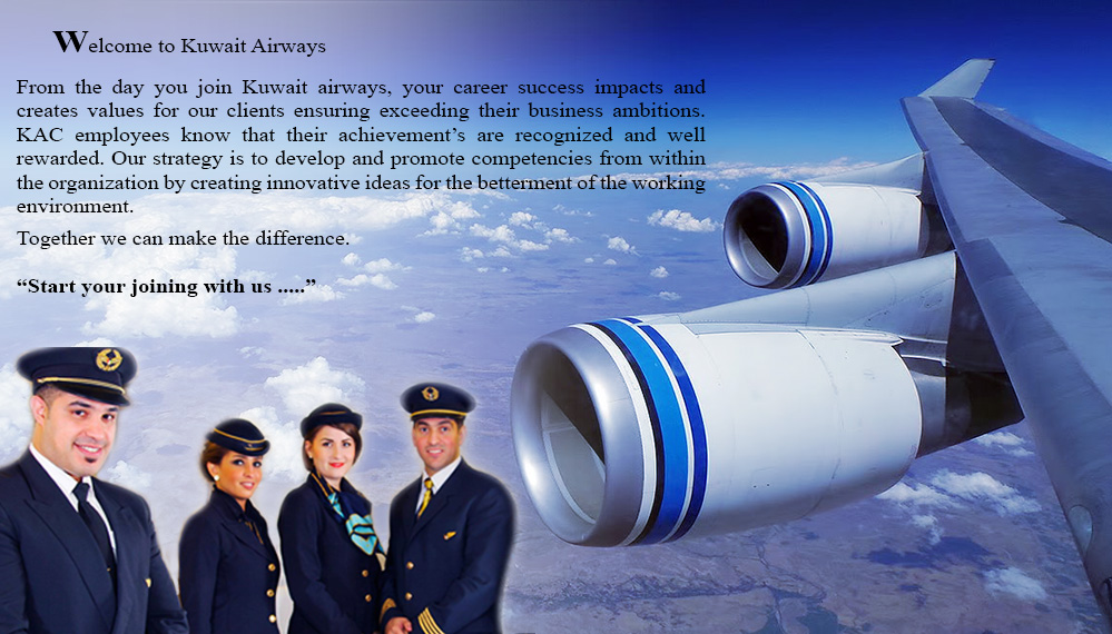 Welcome To Kuwait Airways Careers